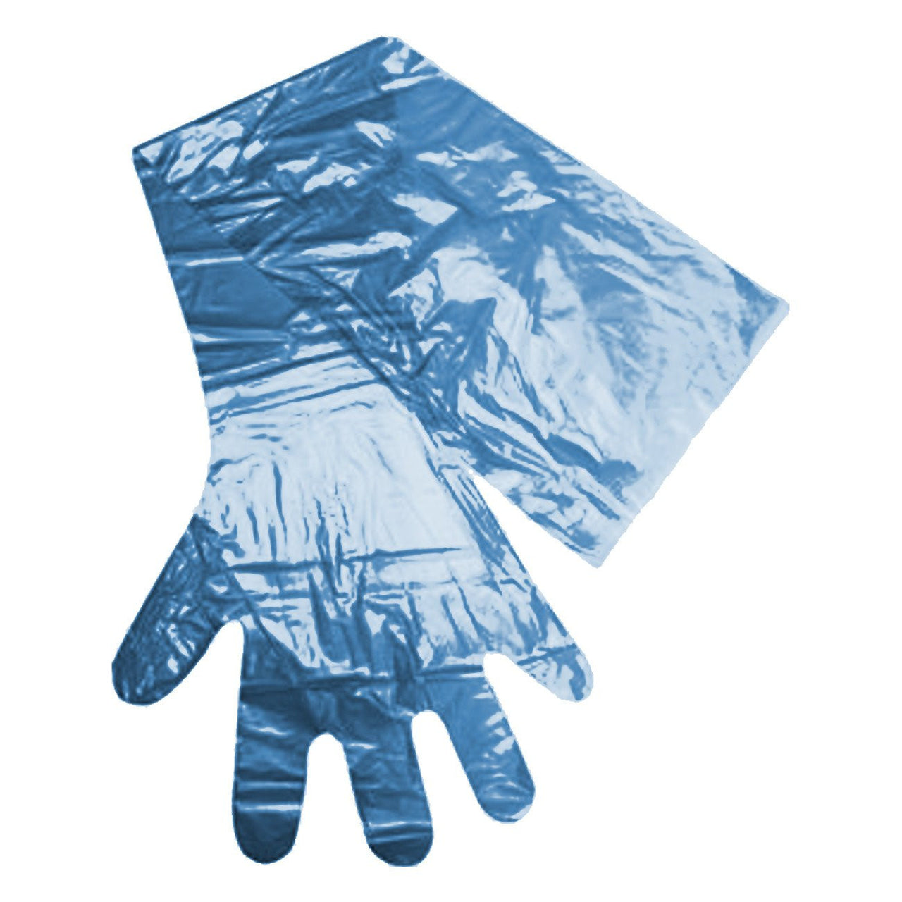 Ape Ob/ai Glove 35 Long By 32¬Μm Thick Blue 100/pk - Biosecurity Ape - Canada