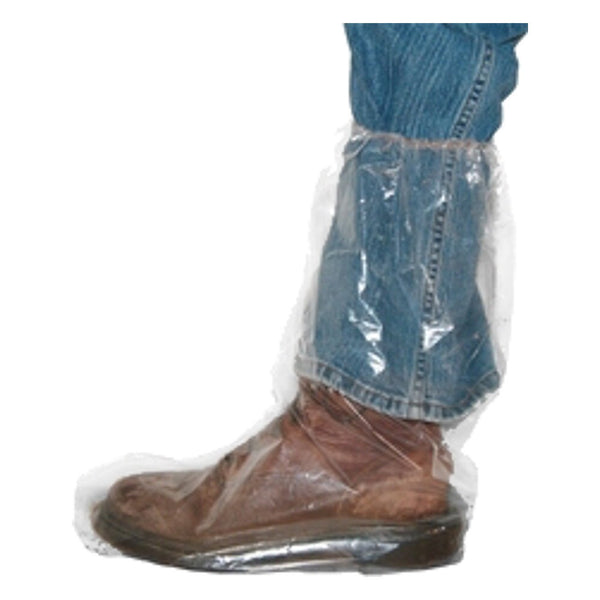 Elastic-Top Boots 152¬Μm Thick 50/bag - Biosecurity Elastic-Top - Canada