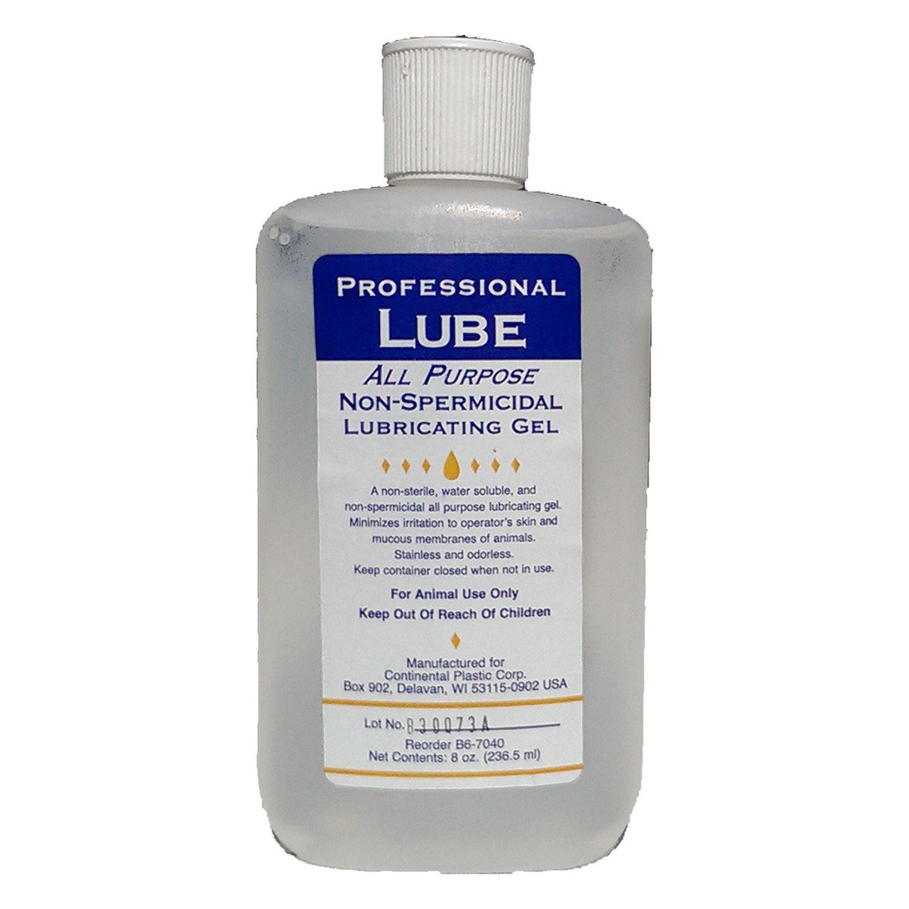 Coburn Professional Ai Lube Gel 236Ml - Veterinary Instrumentation Coburn - Canada