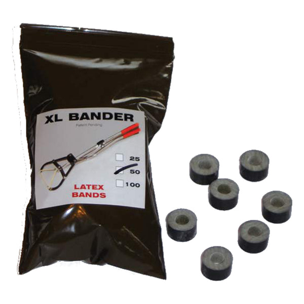 Wadsworth Xl-Bander Rings (50 Pack) - Castration Banders Wadsworth - Canada
