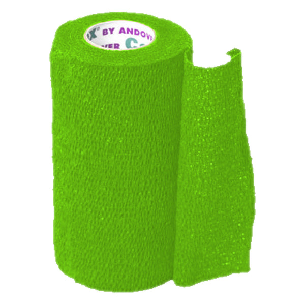 Andover Coflexvet 4X 15 Bandage (Neon Green) - Wound Dressing Andover - Canada