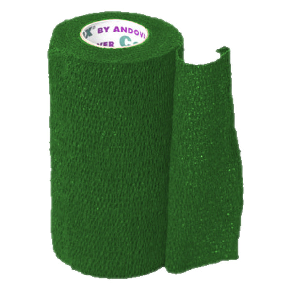 Andover Coflexvet 4X 15 Bandage (Green) - Wound Dressing Andover - Canada