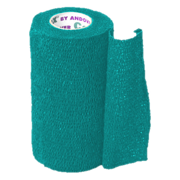 Andover Coflexvet 4X 15 Bandage (Teal) - Wound Dressing Andover - Canada