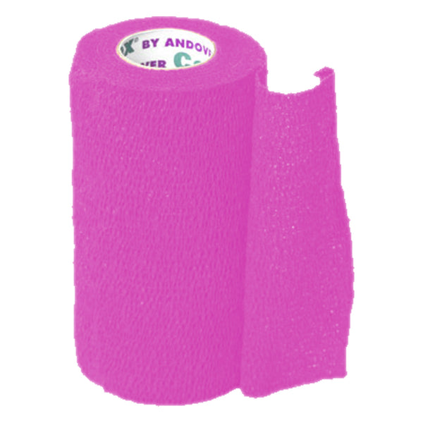 Andover Coflexvet 4X 15 Bandage (Neon Pink) - Wound Dressing Andover - Canada