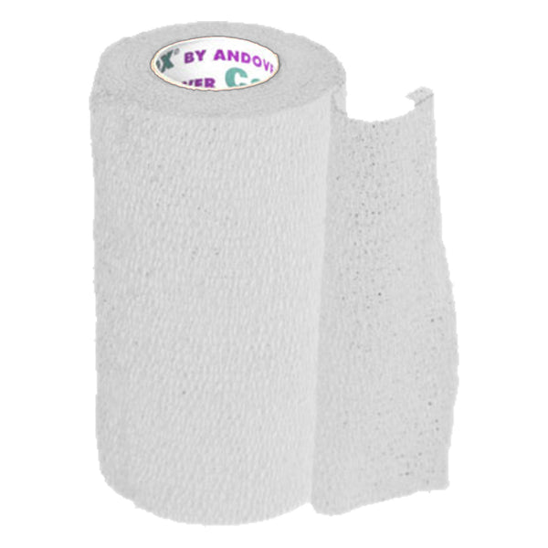 Andover Coflexvet 4X 15 Bandage (White) - Wound Dressing Andover - Canada
