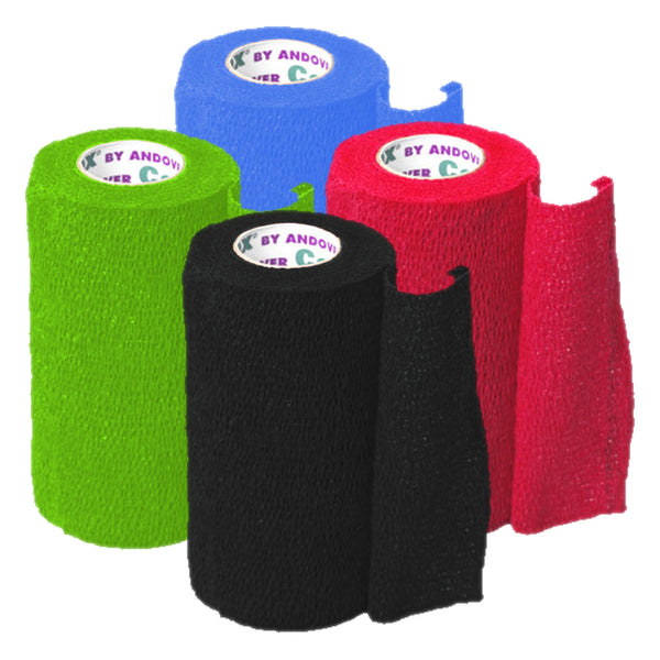 Andover Coflexvet 4X15 Bandage Colour Pack - Wound Dressing Andover - Canada