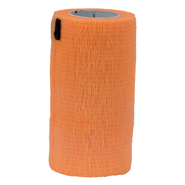 "Syrflex Cohesive Bandage 4""x 5 yds (ORANGE)"
