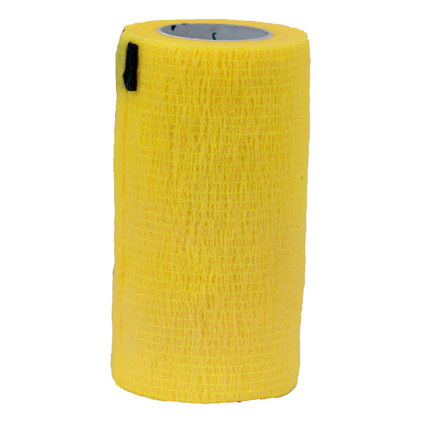 "Syrflex Cohesive Bandage 4""x 5 yds (YELLOW)"