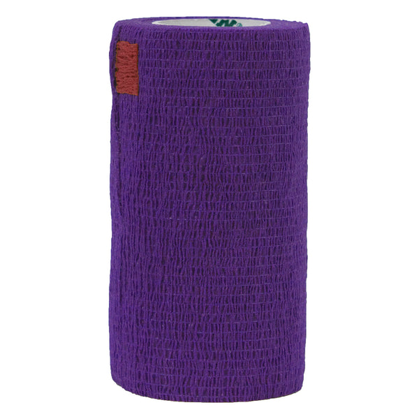 "Syrflex Cohesive Bandage 4""x 5 yds (PURPLE)"