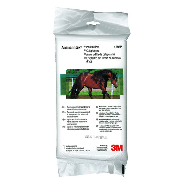 "3M animalintex poultice pad 8""x16"" - Remedy Animal Health Products Ltd."