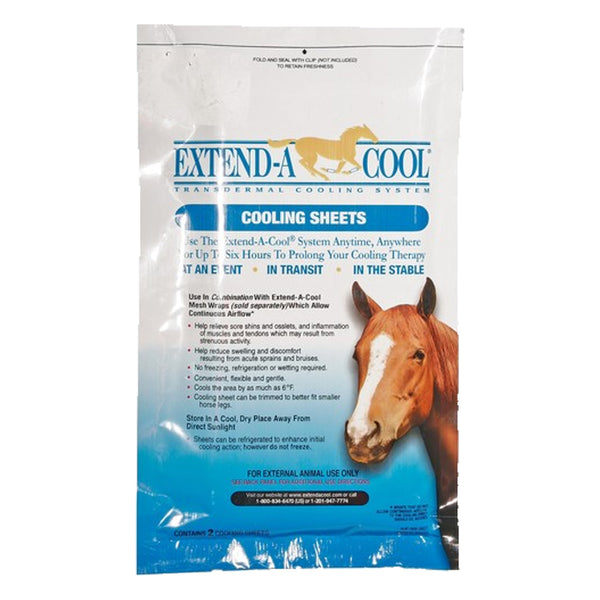 Extend-A-Cool cooling sheets (10 per case) - Remedy Animal Health Products Ltd.