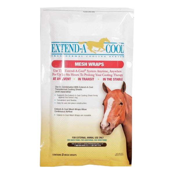 Extend-A-Cool mesh wraps  (10 per case) - Remedy Animal Health Products Ltd.