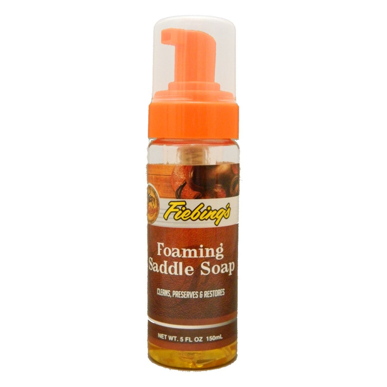 Fiebings Foaming Liquid Glycerine Saddle Soap 150Ml - Leather Care Fiebings - Canada