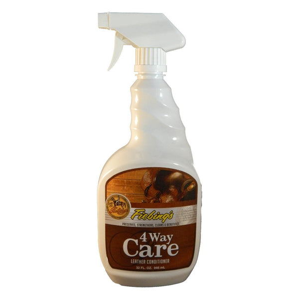 Fiebings 4 Way Care Leather Conditioner W/ Sprayer 946Ml - Leather Care Fiebings - Canada