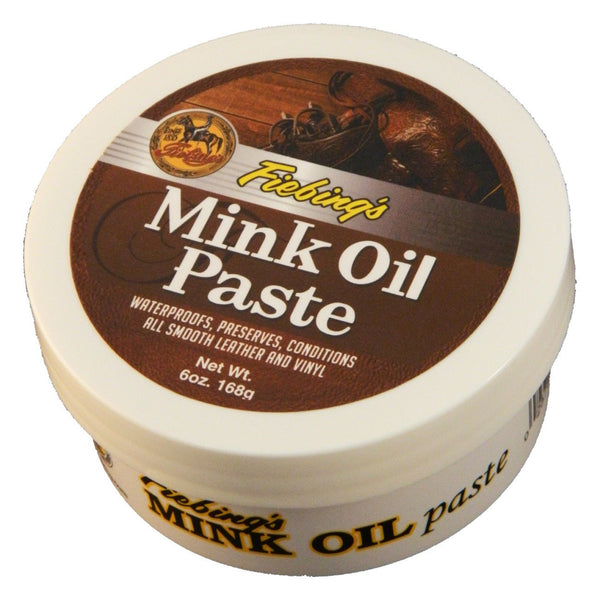 Fiebings Mink Oil Paste 168G - Leather Care Fiebings - Canada
