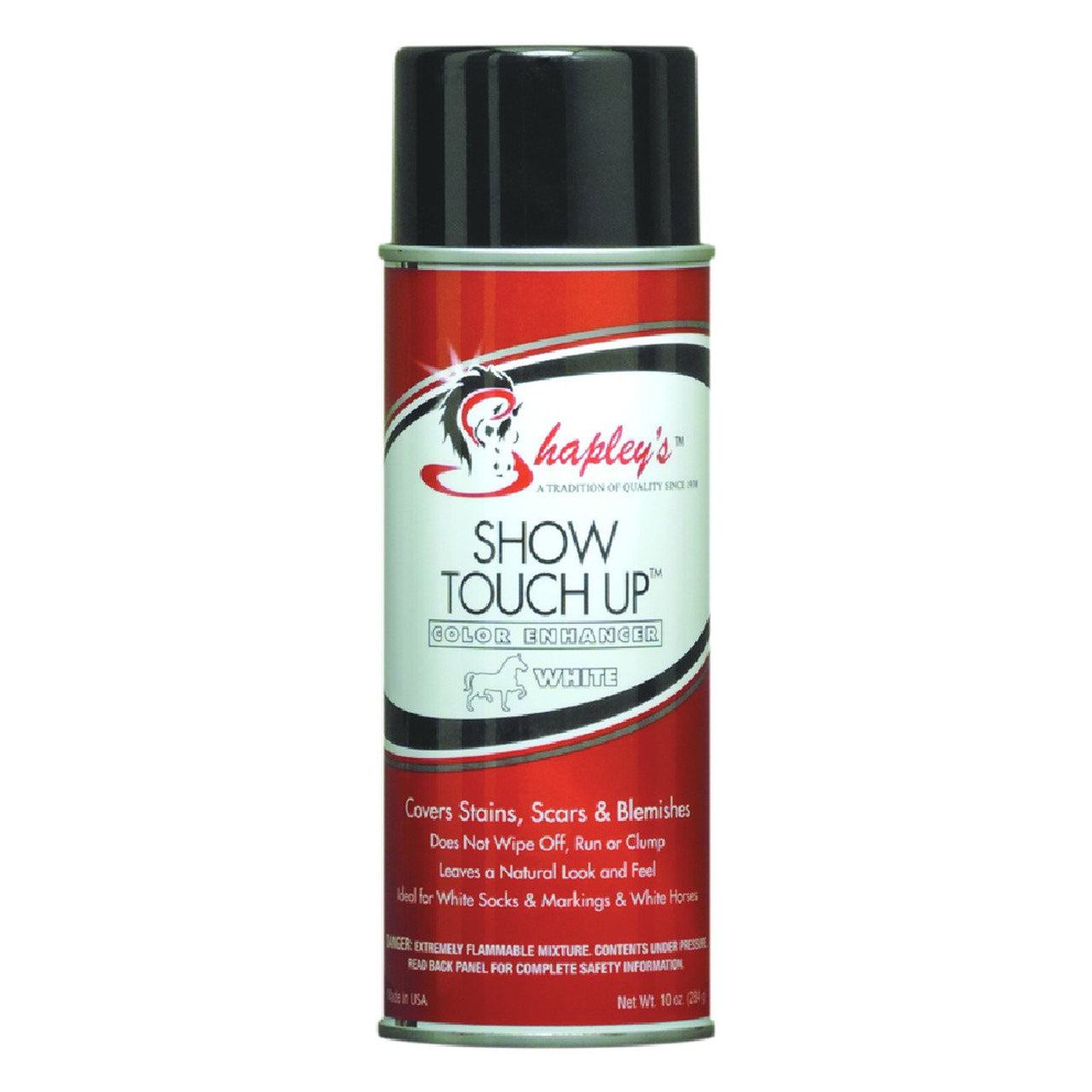 Shapleys Show Touch Up 295Ml Aerosol Spray White - Equine Care Shapleys - Canada