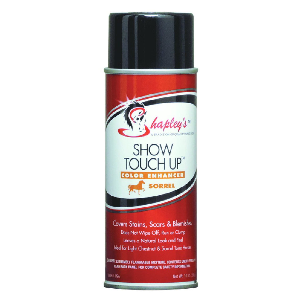 Shapleys Show Touch Up 295Ml Aerosol Spray Sorrel - Equine Care Shapleys - Canada