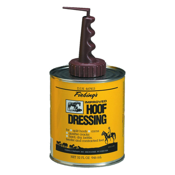 Fiebings Hoof Dressing With Applicator 946Ml - Equine Care Fiebings - Canada