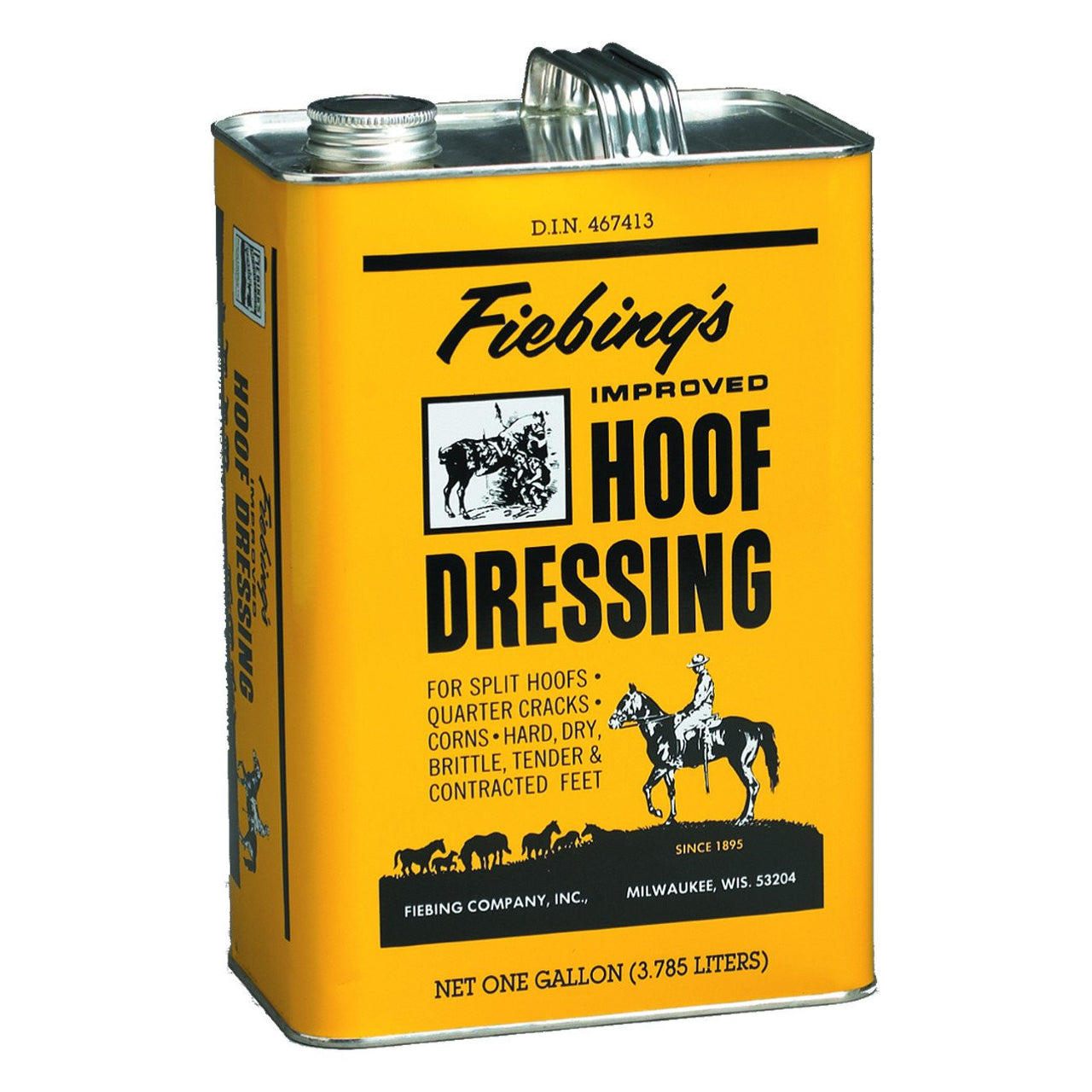 Fiebings Hoof Dressing 3.785L - Equine Care Fiebings - Canada