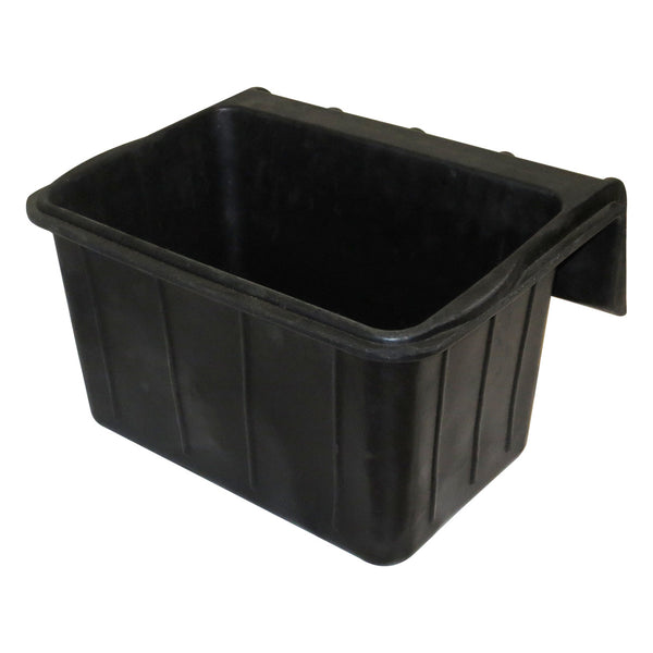 Tuff Stuff Rubber Square Fence Hook 18 Qts - Buckets Pails Feeders Scoops Tubs Bottles Tuff Stuff - Canada
