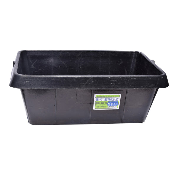 Tuff Stuff Rubber Square Tub 21 Qts - Buckets Pails Feeders Scoops Tubs Bottles Tuff Stuff - Canada
