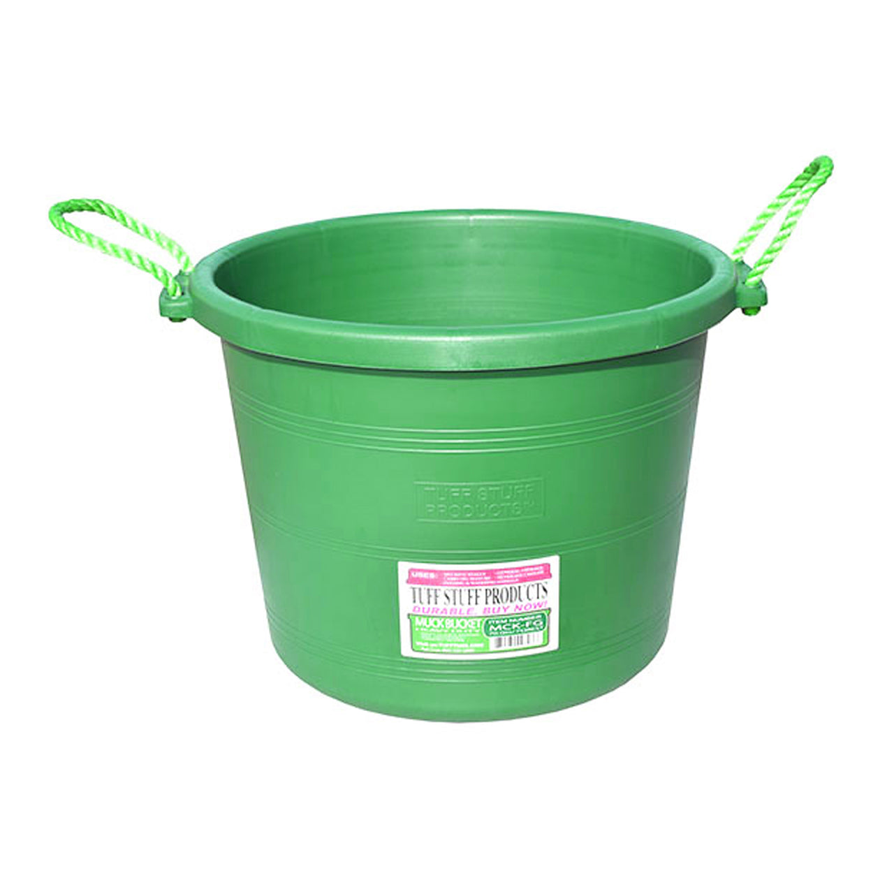 Tuff Stuff Muck Bucket 70 Qts - Lima - Buckets Pails Feeders Scoops Tubs Bottles Tuff Stuff - Canada