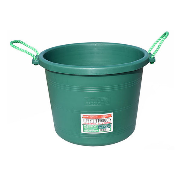Tuff Stuff Muck Bucket 70 Qts - Forest Green - Buckets Pails Feeders Scoops Tubs Bottles Tuff Stuff - Canada