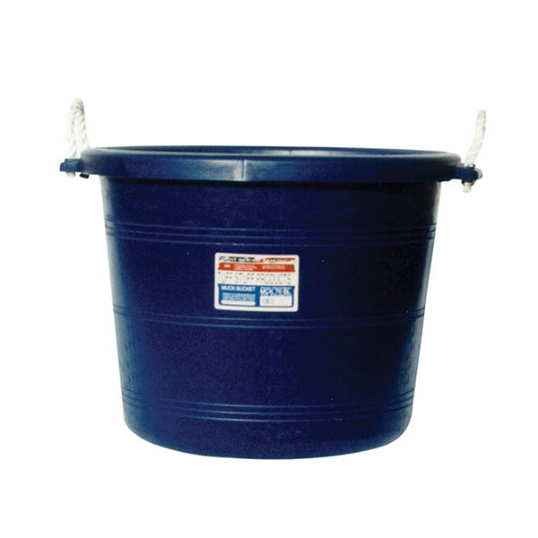Tuff Stuff Muck Bucket 70 Qts - Blue - Buckets Pails Feeders Scoops Tubs Bottles Tuff Stuff - Canada