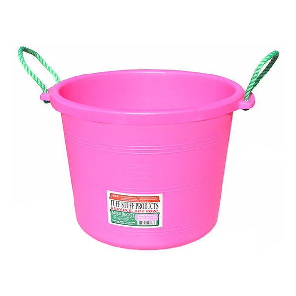 Tuff Stuff Muck Bucket 70 Qts - Pink - Buckets Pails Feeders Scoops Tubs Bottles Tuff Stuff - Canada