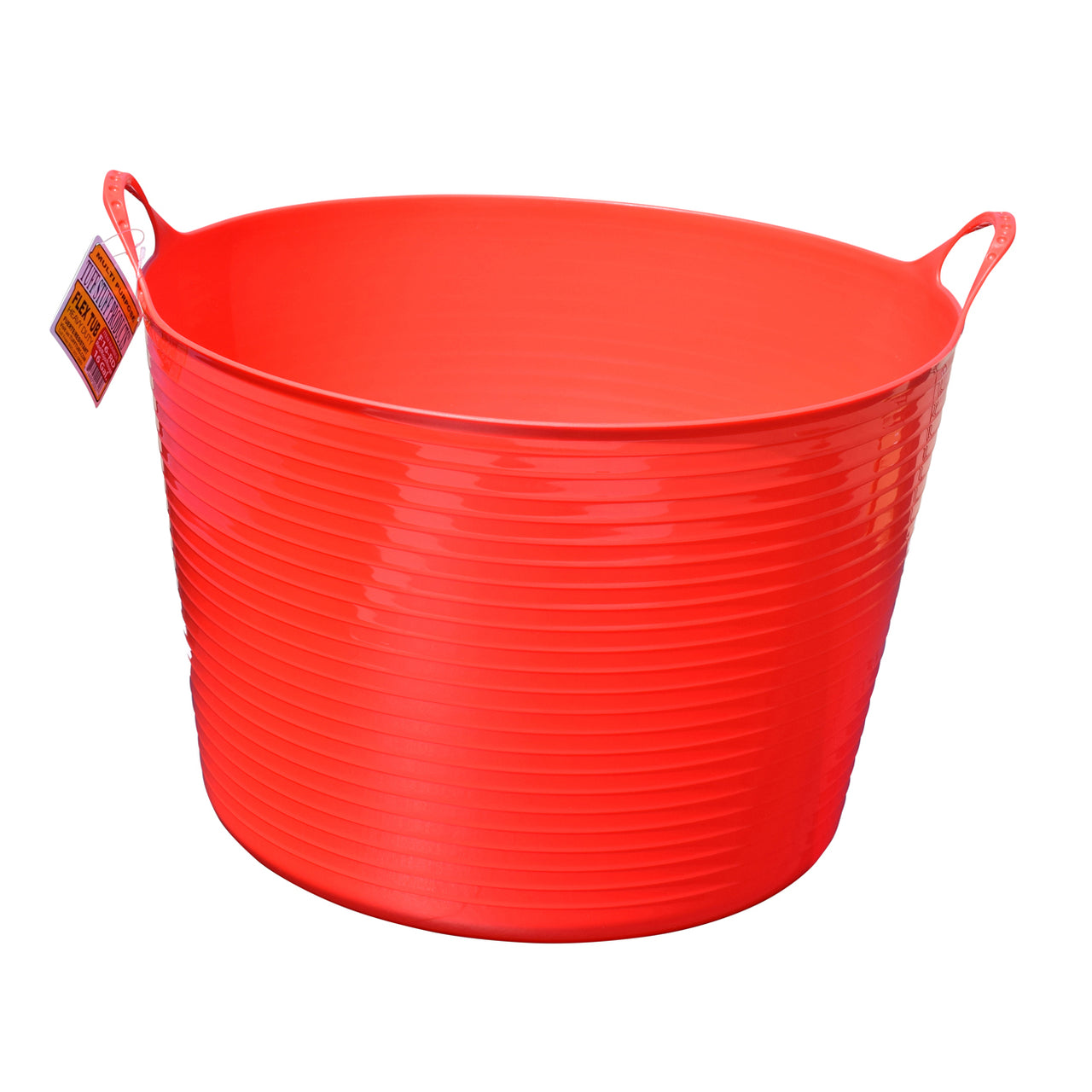 Tuff Stuff Flex Tub - Red (4 Sizes) - Buckets Pails Feeders Scoops Tubs Bottles Tuff Stuff - Canada