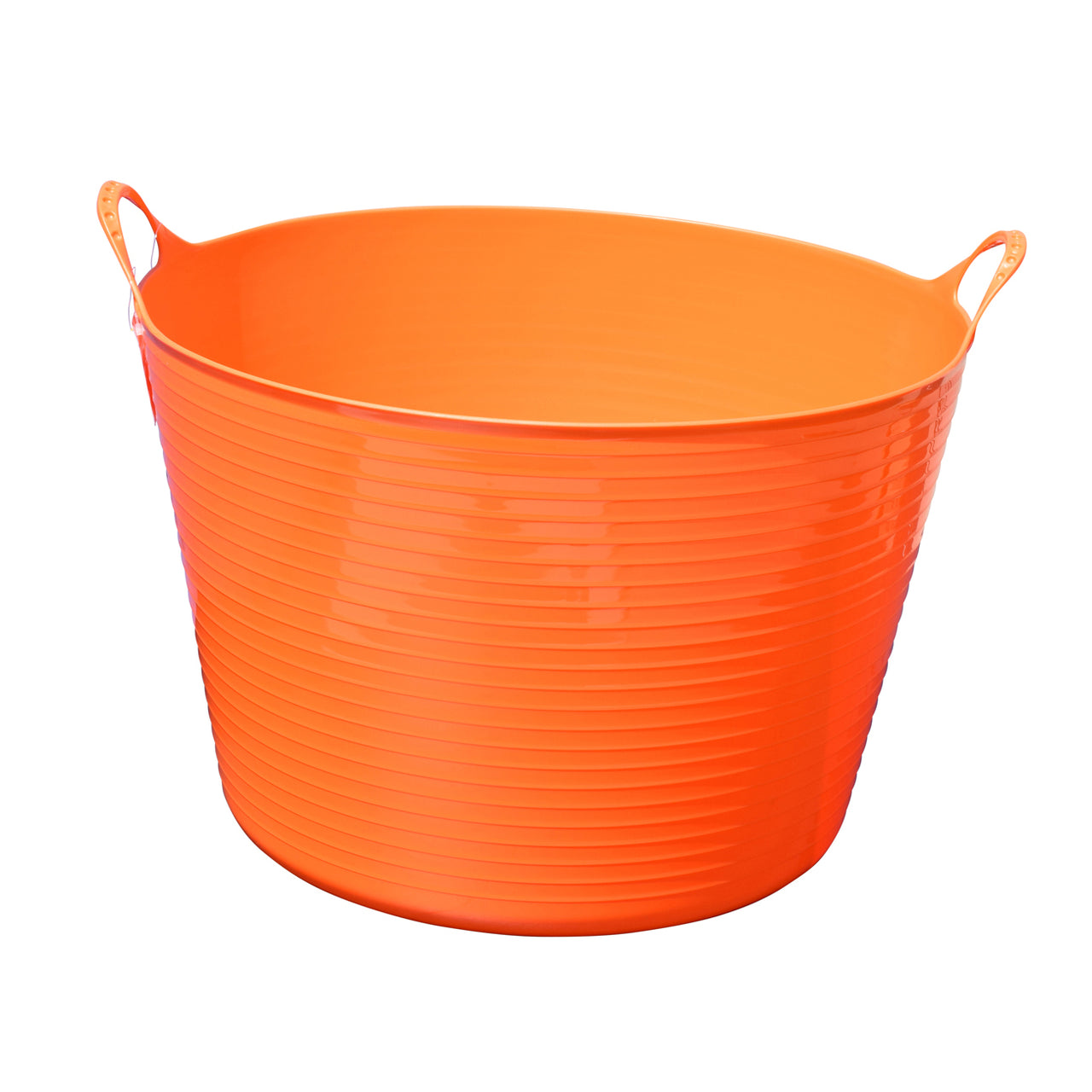 Tuff Stuff Flex Tub - Orange (4 Sizes) - Buckets Pails Feeders Scoops Tubs Bottles Tuff Stuff - Canada