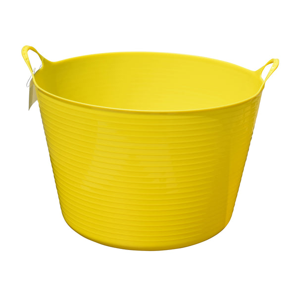 Tuff Stuff flex tub - yellow (4 sizes)