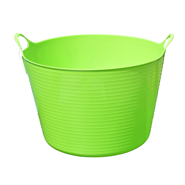Tuff Stuff Flex Tub - Green (4 Sizes) - Buckets Pails Feeders Scoops Tubs Bottles Tuff Stuff - Canada