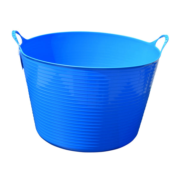 Tuff Stuff Flex Tub - Sky Blue (4 Sizes) - Buckets Pails Feeders Scoops Tubs Bottles Tuff Stuff - Canada