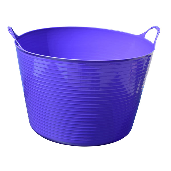 Tuff Stuff Flex Tub - Purple (4 Sizes) - Buckets Pails Feeders Scoops Tubs Bottles Tuff Stuff - Canada