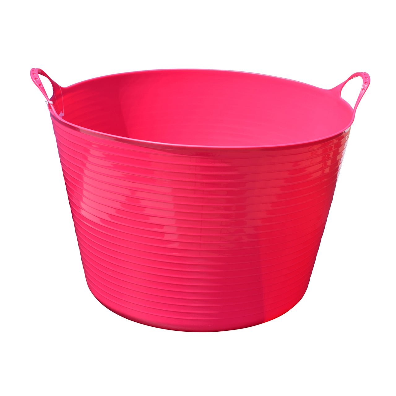 Tuff Stuff Flex Tub - Pink (4 Sizes) - Buckets Pails Feeders Scoops Tubs Bottles Tuff Stuff - Canada