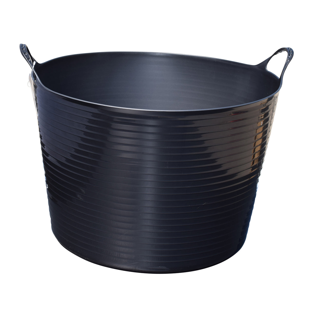 Tuff Stuff Flex Tub - Black (4 Sizes) - Buckets Pails Feeders Scoops Tubs Bottles Tuff Stuff - Canada