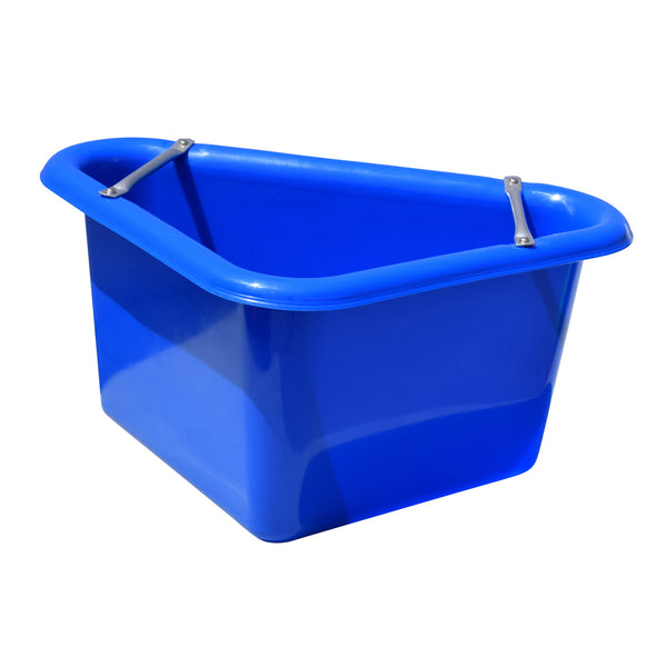 Tuff Stuff Corner Feeder 12 Gallon - Blue - Buckets Pails Feeders Scoops Tubs Bottles Tuff Stuff - Canada