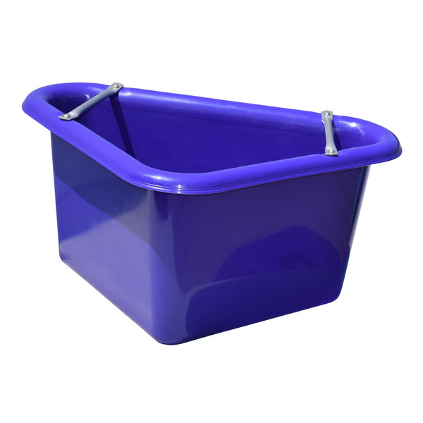 Tuff Stuff Corner Feeder 12 Gallon - Purple - Buckets Pails Feeders Scoops Tubs Bottles Tuff Stuff - Canada