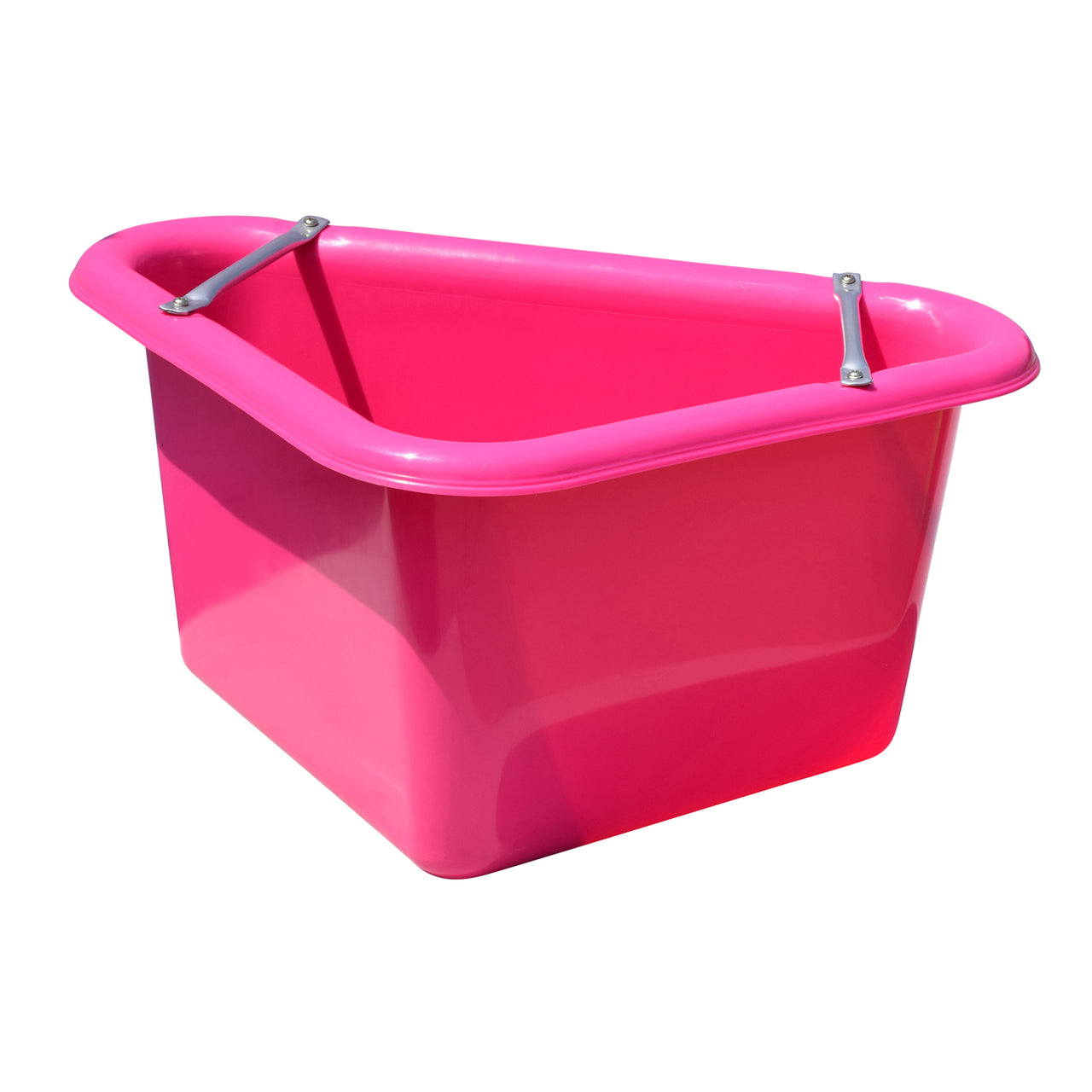Tuff Stuff Corner Feeder 12 Gallon - Pink - Buckets Pails Feeders Scoops Tubs Bottles Tuff Stuff - Canada