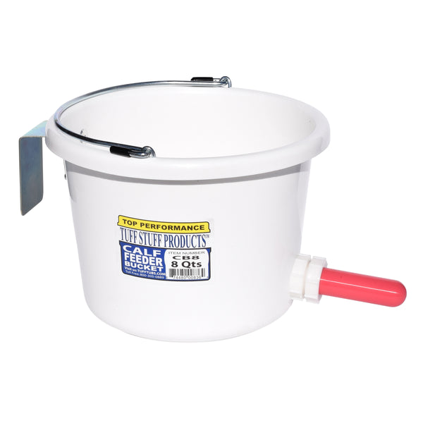 Tuff Stuff Calf Feeder Bucket 8Qts - Buckets Pails Feeders Scoops Tubs Bottles Tuff Stuff - Canada