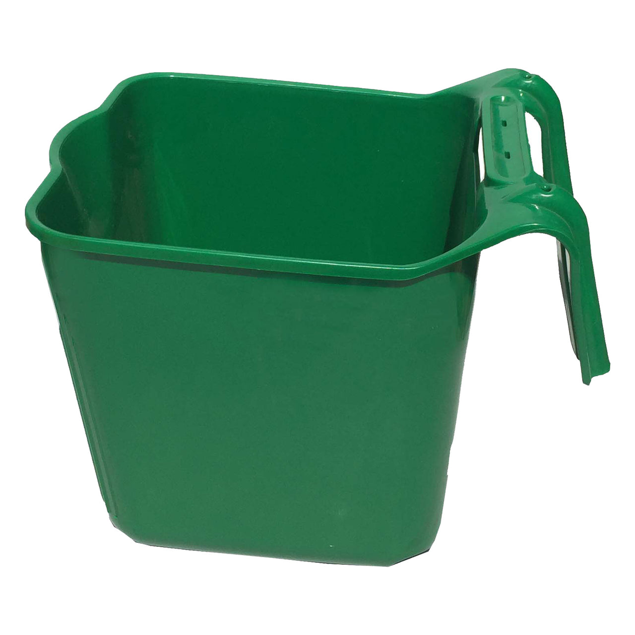 Tuff Stuff Square Fence Feeder 14 Qts (Green) - Buckets Pails Feeders Scoops Tubs Bottles Tuff Stuff - Canada