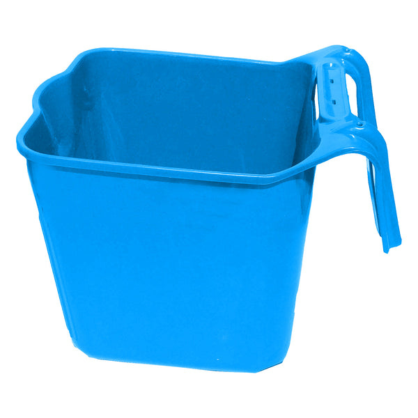 Tuff Stuff Square Fence Feeder 14 Qts (Blue) - Buckets Pails Feeders Scoops Tubs Bottles Tuff Stuff - Canada
