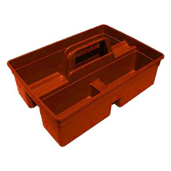 Tuff Stuff Tote Carry Caddy Square - Red - Buckets Pails Feeders Scoops Tubs Bottles Tuff Stuff - Canada