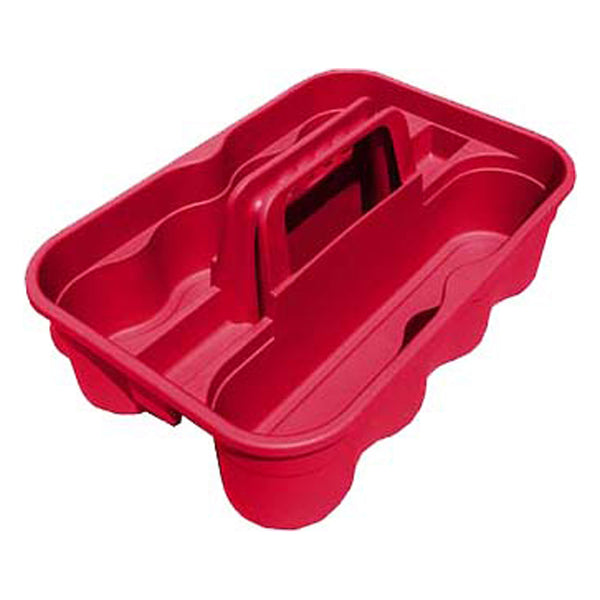 Tuff Stuff Bottle Carry Caddy - Red - Buckets Pails Feeders Scoops Tubs Bottles Tuff Stuff - Canada