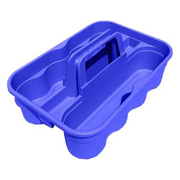 Tuff Stuff Bottle Carry Caddy - Blue - Buckets Pails Feeders Scoops Tubs Bottles Tuff Stuff - Canada