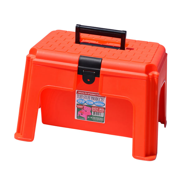 Tuff Stuff Tool Box Caddy - Red - Buckets Pails Feeders Scoops Tubs Bottles Tuff Stuff - Canada