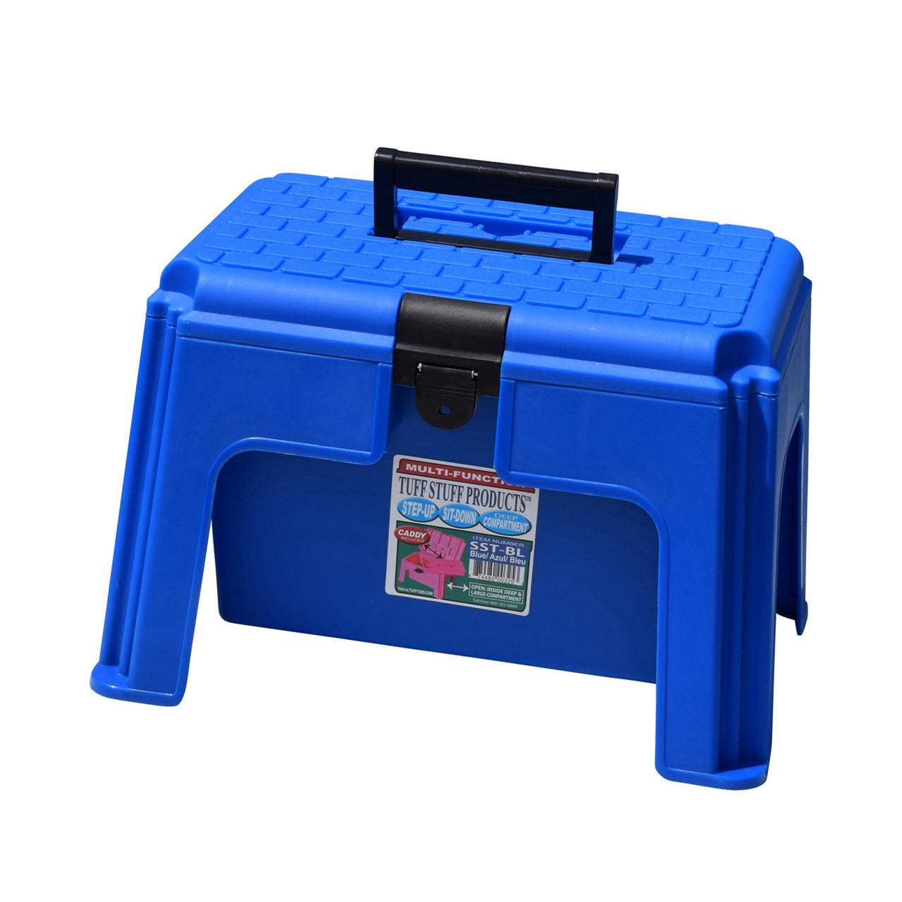 Tuff Stuff Tool Box Caddy - Blue - Buckets Pails Feeders Scoops Tubs Bottles Tuff Stuff - Canada