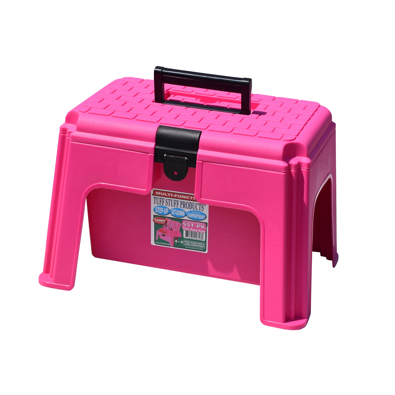 Tuff Stuff Tool Box Caddy - Pink - Buckets Pails Feeders Scoops Tubs Bottles Tuff Stuff - Canada