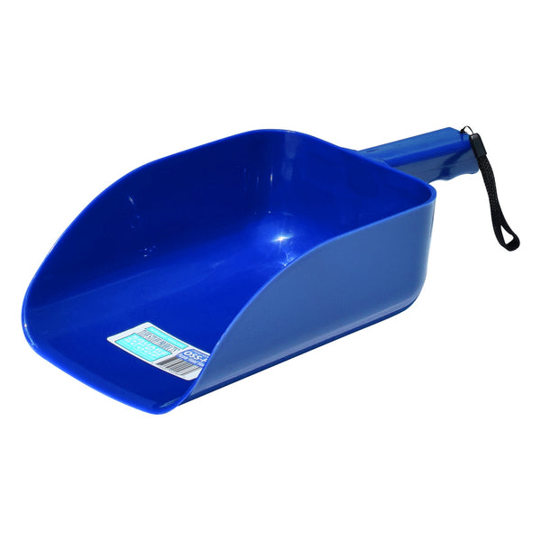 Tuff Stuff Open Square Scoop - Blue - Buckets Pails Feeders Scoops Tubs Bottles Tuff Stuff - Canada